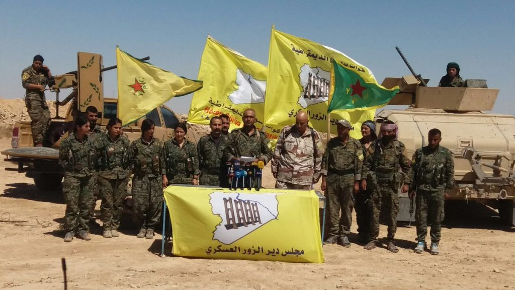 """US-backed Forces Officially Declare Start Of """"al-Jazeera Tempest"""" Campaign In Deir Ezzor Province"""