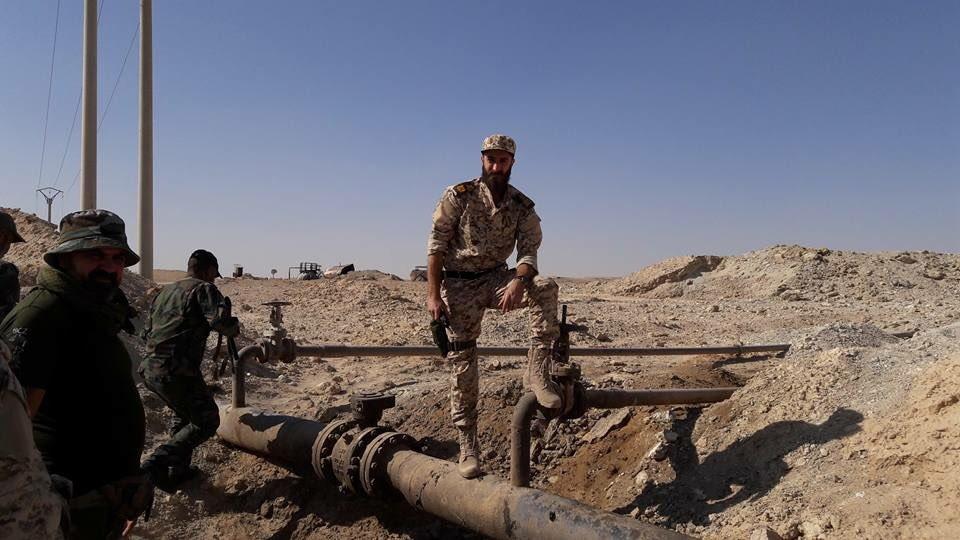 Photo: Russian Servicemen In Deir Ezzor City
