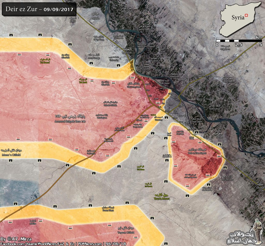 Syrian Army Takes Control Of Maliha Village At Sukhna-Deir Ezzor Highway, Pushes Further To Lift ISIS Siege On Deir Ezzor Airport (Map)