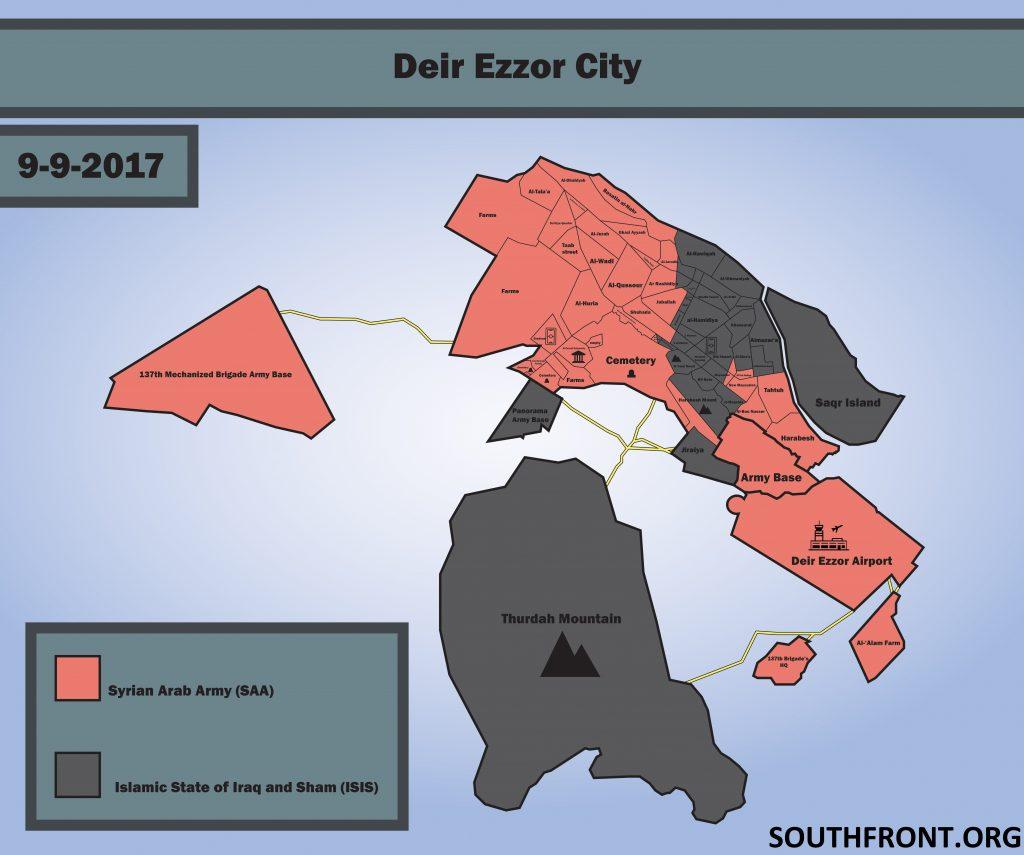 Syrian Army Broke ISIS Siege On Strategic Deir Ezzor Airport - Syrian MoD