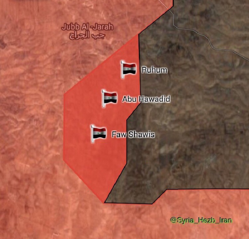 Government Troops Further Advance In Southwestern Part Of ISIS Pocket In Eastern Hama (Maps)