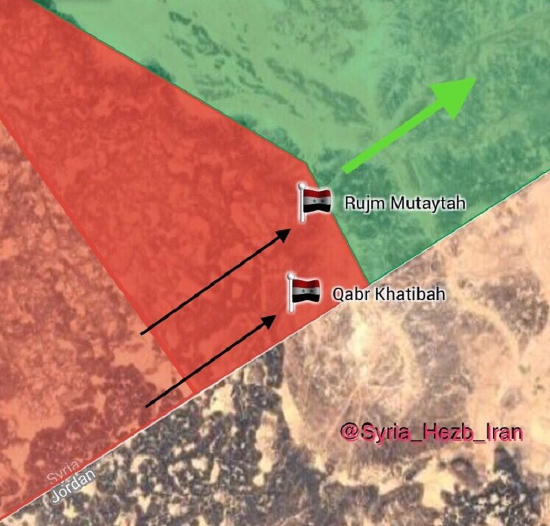Syrian Army Pushes Further Along Border With Jordan, Captures 6 More Positions