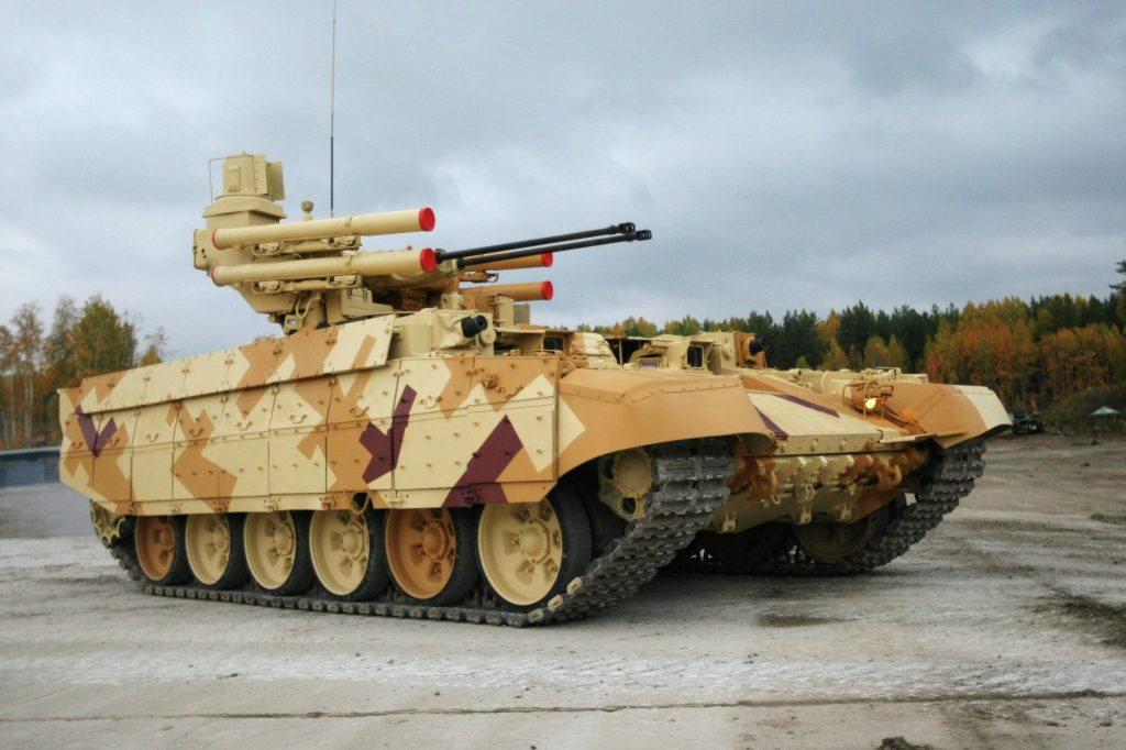 Algeria To Buy Over 300 Russian-made BMPT-72 Terminator-2 Tank Support Combat Vehicles - Media