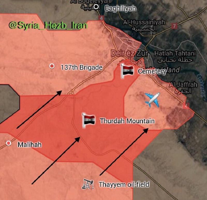 US-led Coalition Bombed Syrian Military Column Near Deir Ezzor - Media