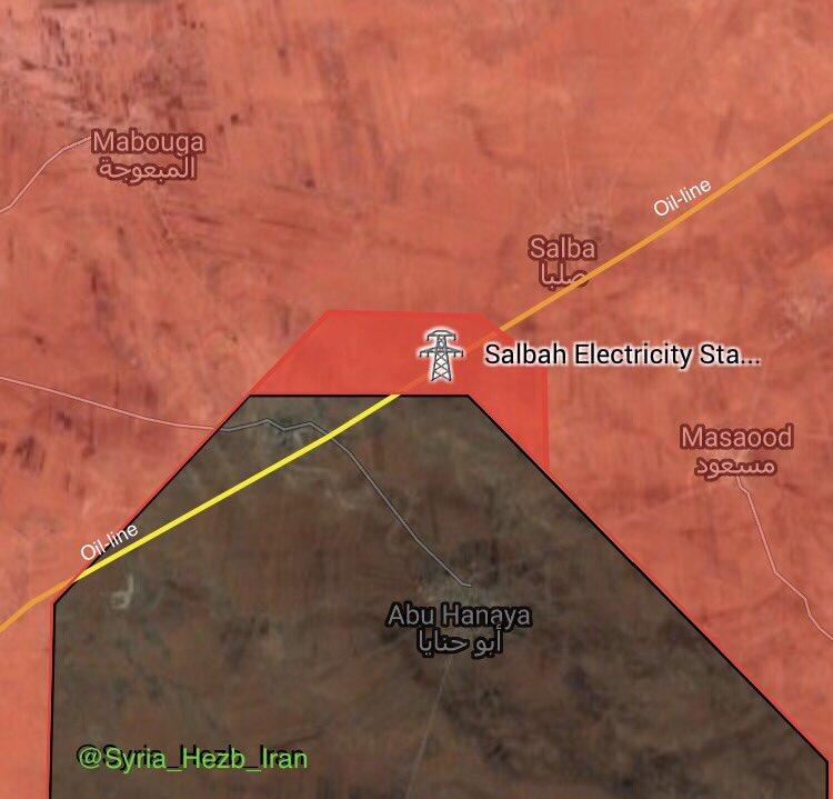Government Forces Liberate Salbah Electricity Station In Eastern Hama (Maps)