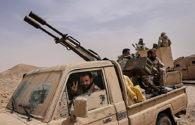 Syrian Army Repels ISIS Advance Near Uqayribat. Russian Warplanes Hit 180 ISIS Targets Near Town
