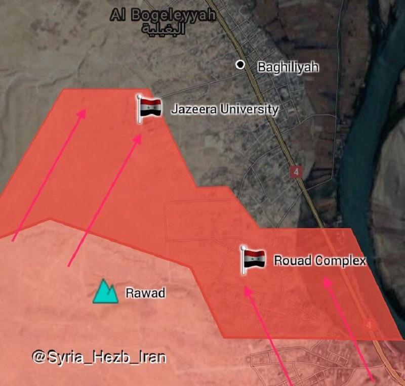 Overview Of Battle For Deir Ezzor On September 14, 2017 (Maps)