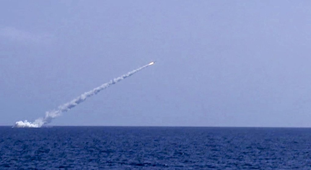 Russian Submarines Fire Seven Cruise Missiles On ISIS Targets East Of Deir Ezzor City - Russian MoD