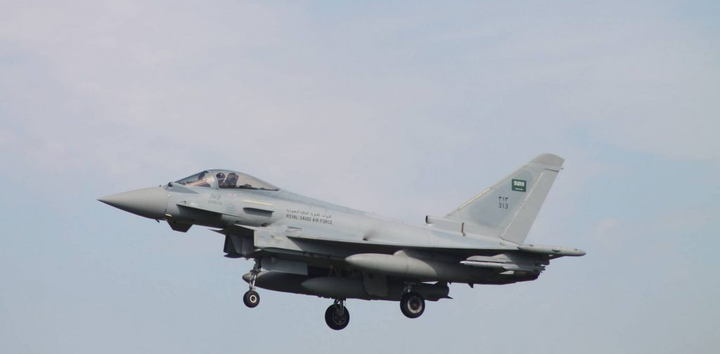 Saudi-led Coalition Warplane Crashed In Yemen's Abyan Province