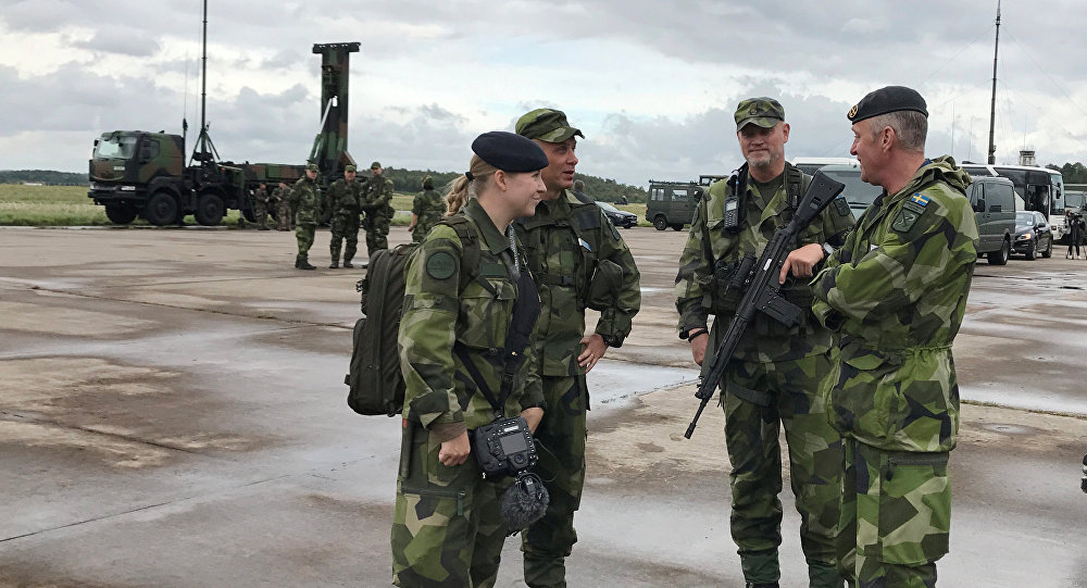 Militaryzation Of Europe: Sweden Holds Largest Military Drill In Over 20 Years