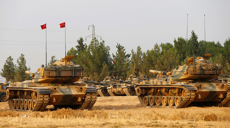 Turkish Defense Minister Inspects Broder With Syria & Threatens US-Backed Forces
