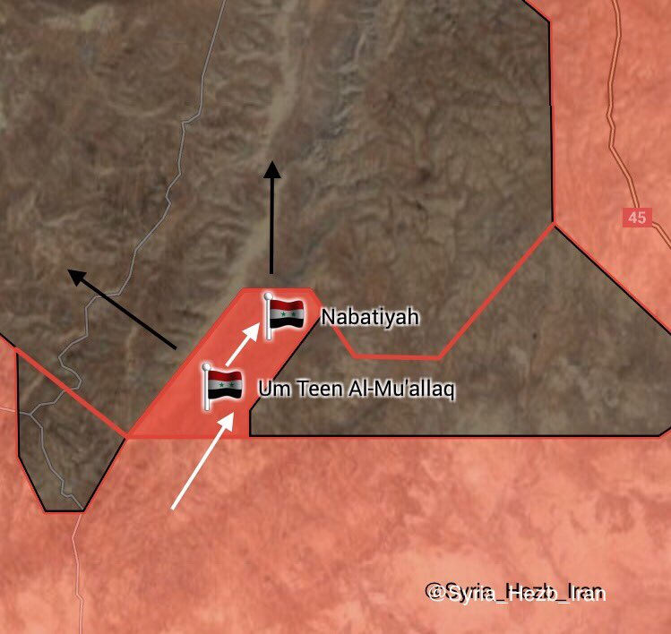 Syrian Government Forces Liberate Two More Villages East Of Salamiyah From ISIS (Maps)