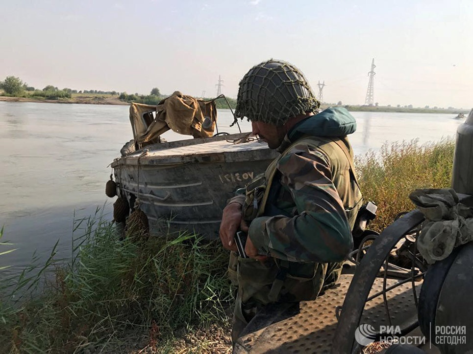 Russian MoD: Syrian Troops Crossed Euphrates Using Pontoon Bridge, Liberated Some Villages On Its Eastern Bank