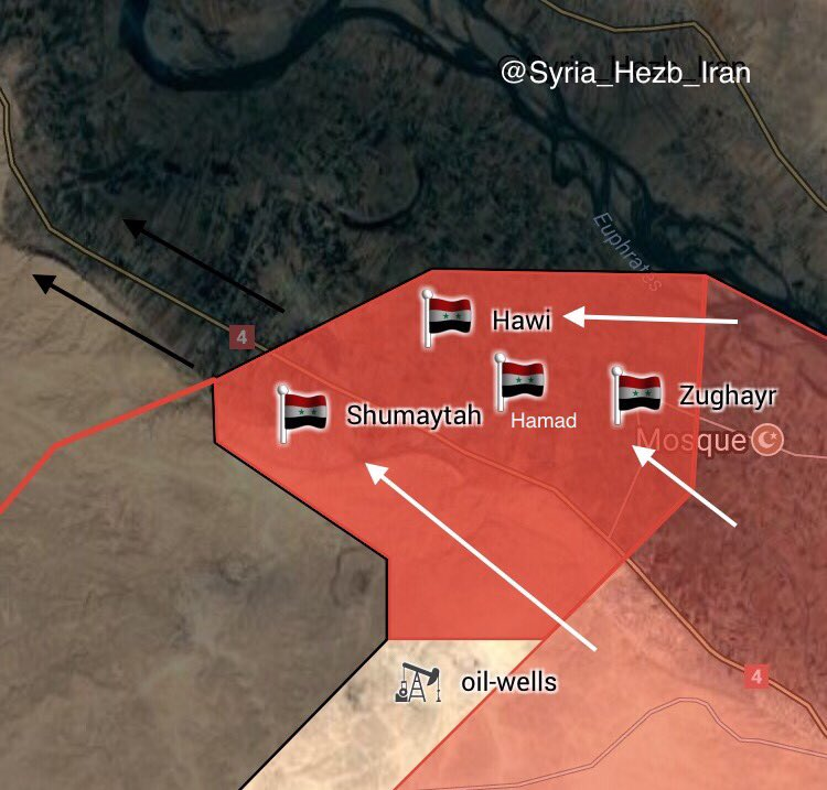 ISIS Defense Collapes On Multiple Frontlines In Deir Ezzor Under Government Forces Pressure (Maps)