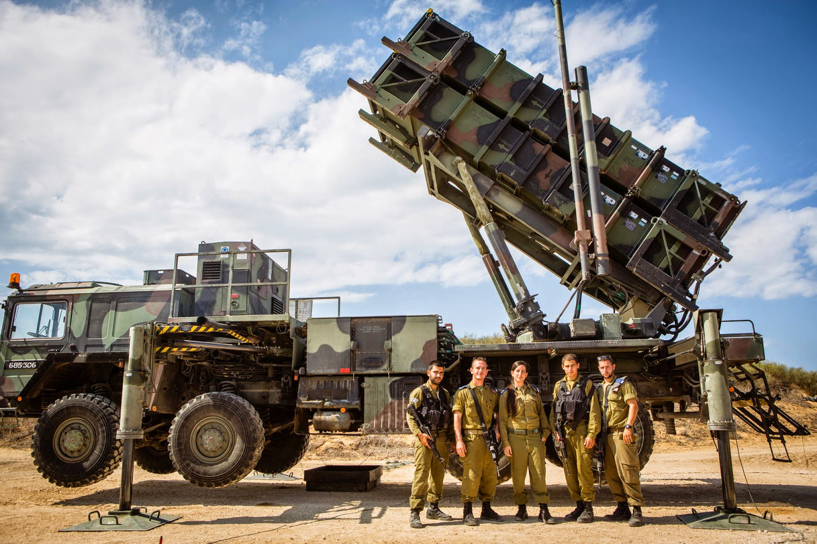 Izrael použil raketu Patriot za 3 miliony dolarů, aby nad Golanskými výšinami sestřelil dron
