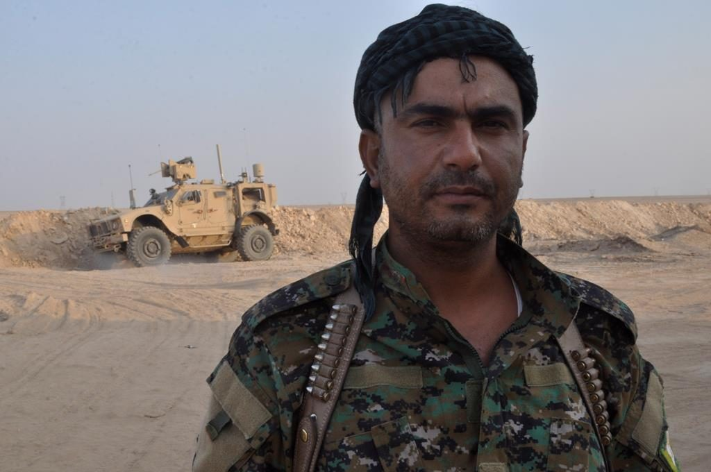 US-backed Syrian Democratic Forces Declare Start Of Advance Towards Border With Syria