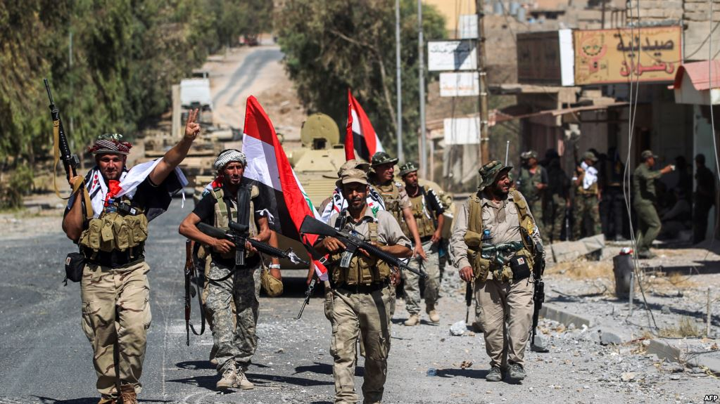Iraqi Forces Encircling Anah Town West Of ISIS Border Stronghold Of Al-Qa'im