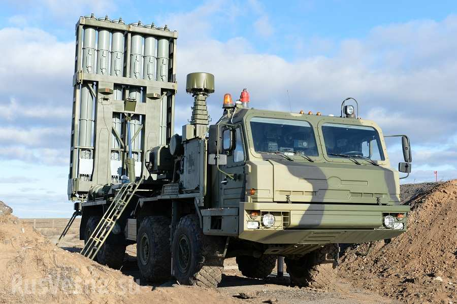 Russia Deploys S-350E Medium-Range Surface-To-Air Missile System In Syria - Media