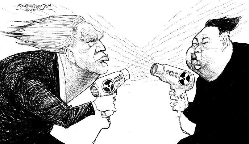 "Kim Jong Un Warns Donald Trump That He Will ""Pay Dearly For His Speech"""