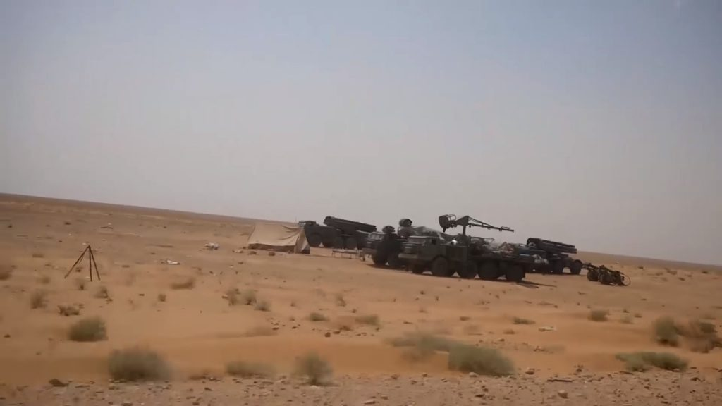 Russian-made BM-27 Uragan Heavy Multiple Rocket Launchers Support Syrian Army Advance In Deir Ezzor (Photos)