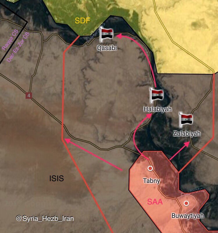 Syrian Army Surprisingly Pushes Northwest Of Deir Ezzor, Captures Villages En Rote To Maadan (Maps)