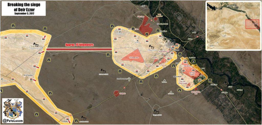 シリア軍がデリゾール市に向けて最終的なプッシュでアル・シュラ村を解放 - レポート