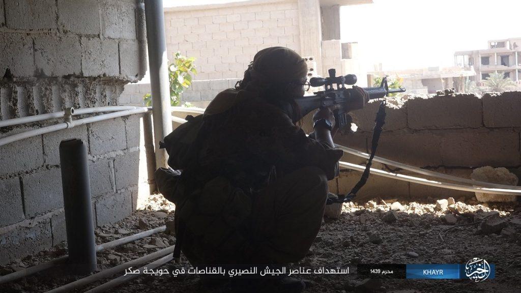 Overview Of Battle For Deir Ezzor On September 22, 2017 (Evening)