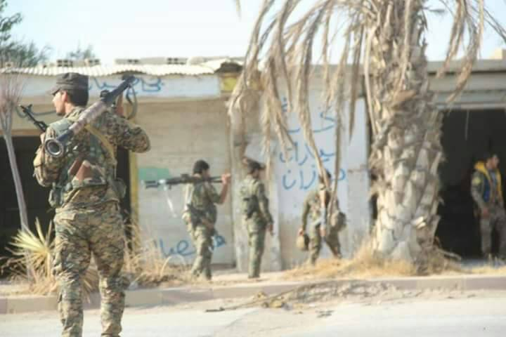 Syrian Democratic Forces Launch Security Operations In Southeastern Deir Ezzor Following Large Bombing