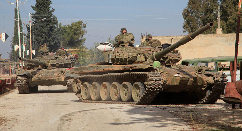 Government Forces Advance In Western Ghouta East Of Damascus
