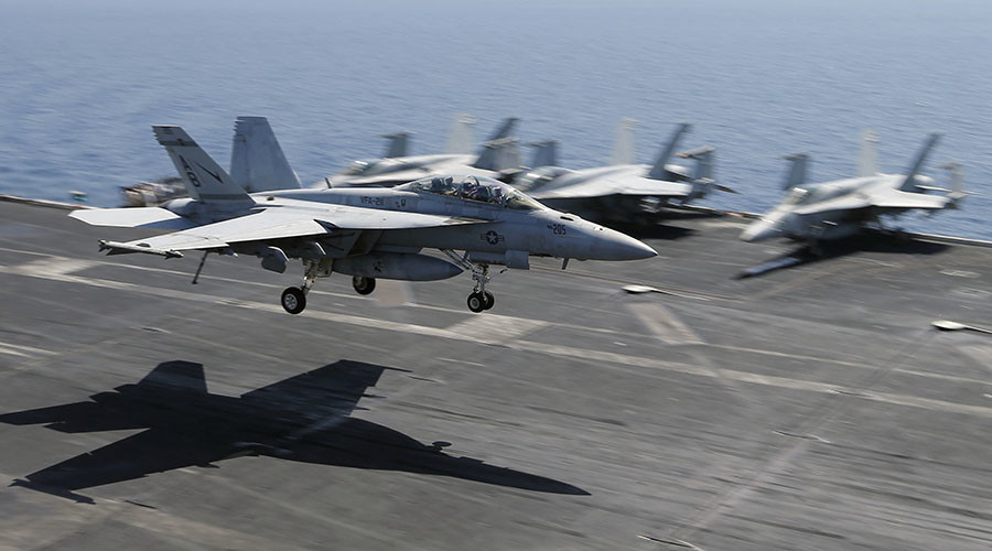 US-led Coalition Conducted 152 Strikes On ISIS In Syria And Iraq Last Week
