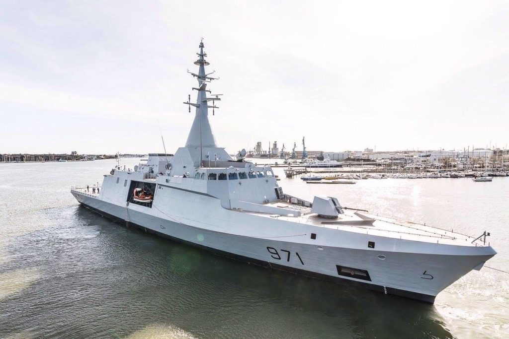 Egyptian Navy Launches First Gowind 2500 Corvette, Awaits 3 More