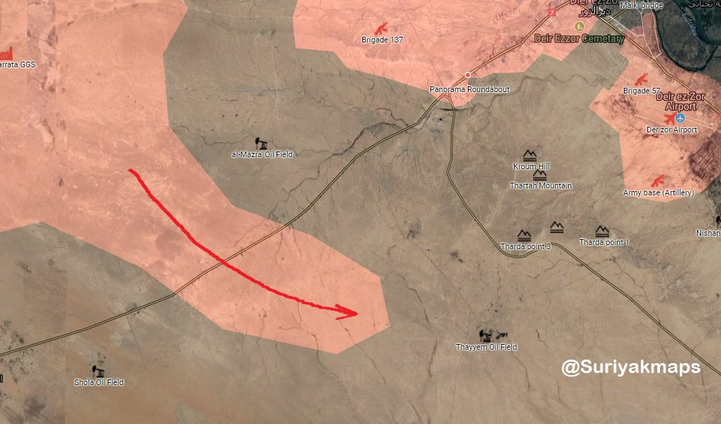 ISIS Sends Large Reinforcements To Deir Ezzor City Amid Intense Clashes Near 137th Brigade Base
