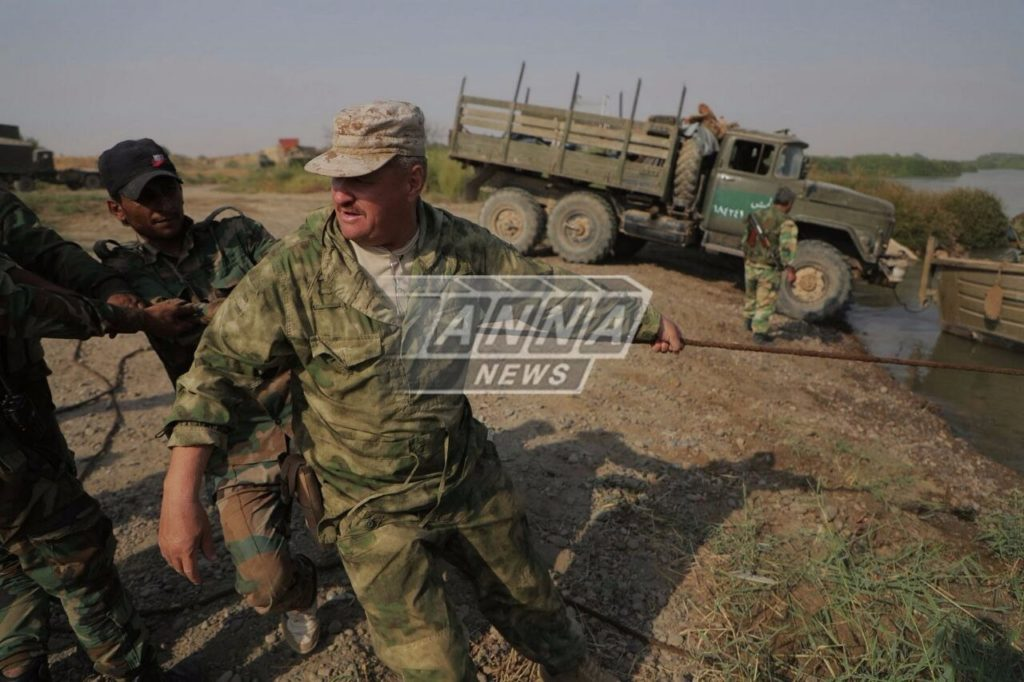 Russian Top General Was Photographed At De-facto Frontline Near Deir Ezzor