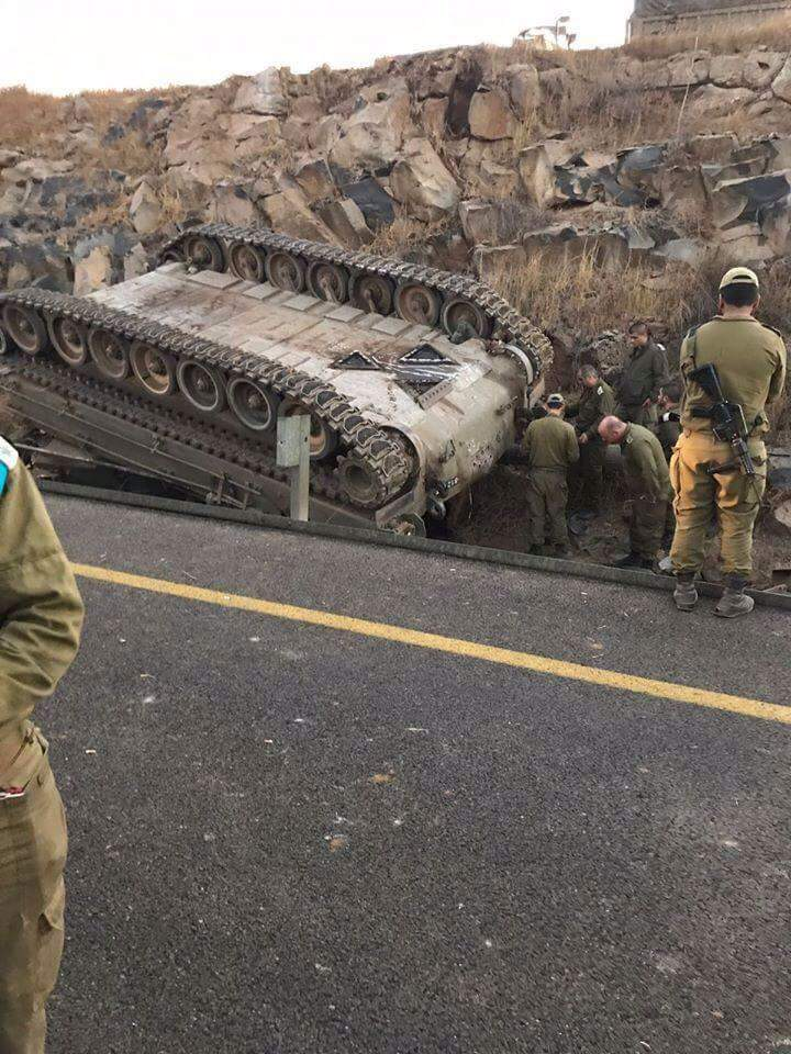 Two Israeli Soldiers Dead, Four Injured In Accident During Training Maneuvers In Golan Heights