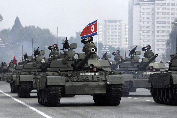 North Korea Boosts Defenses Near Area Of US-South Korea Military Drills