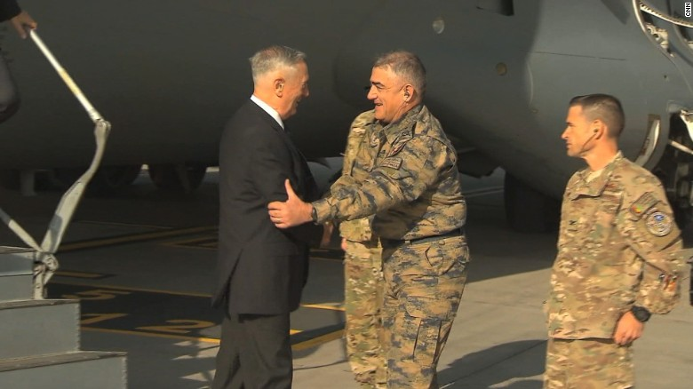 ISIS Shelled Kabul Airport Right After US Defense Secretary James Mattis Arrived Afghanistan