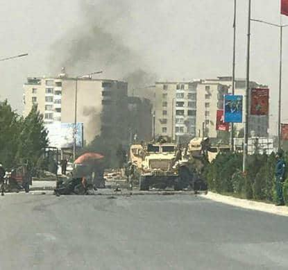 Suicide Bomber Attacked NATO Convoy In Afghanistan (Video, Photos)