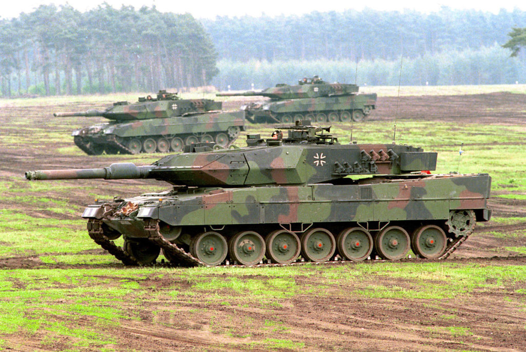German Army To Receive 104 Modified Leopard Battle Tanks