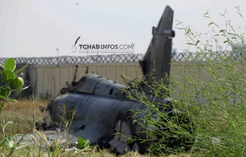 French Air Force Fighter Jet Crashed In Chad