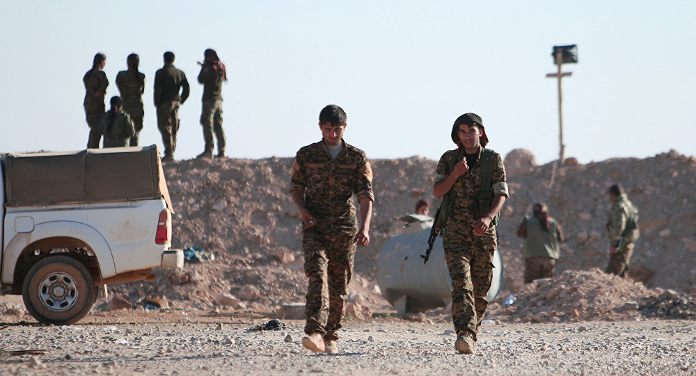 US-backed Forces Prepare Anti-ISIS Operation In Raqqa Samra Village East Of Raqqa