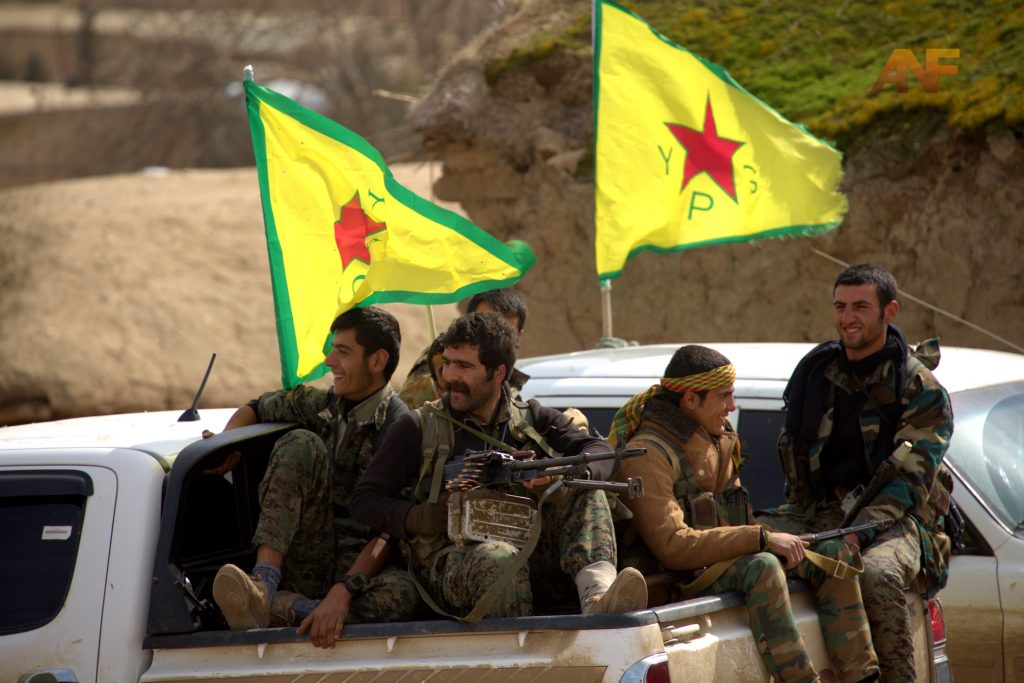 1,244 ISIS Terrorists Killed In Raqqah City In August - YPG