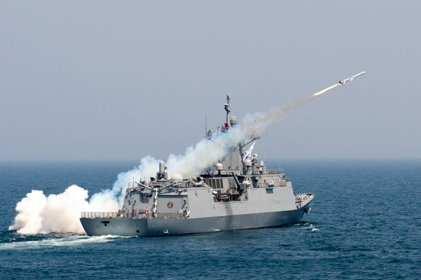 South Korea Holds Live-Fire Naval War Games Following North Korea's Nuclear Test