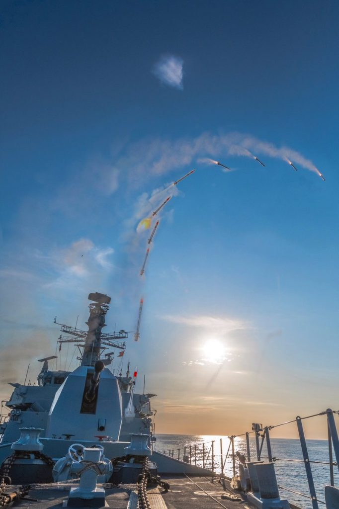 UK Navy Carries Out Fire Tests Of Air Defense System Against Supersonic Missiles (Video)