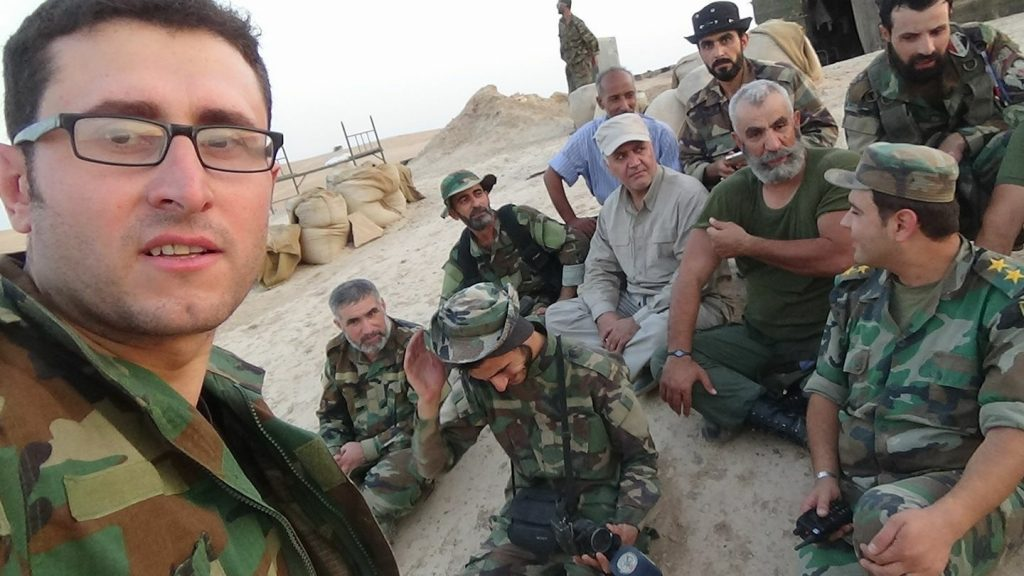 Photo: Gen. Issam Zahreddine And Its Fighters Wait Tiger Forces In 137th Brigade Base