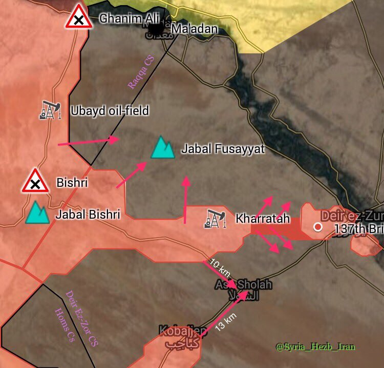 Overview Of Battle For Deir Ezzor City On September 7, 2017 (Maps, Photos, Videos)