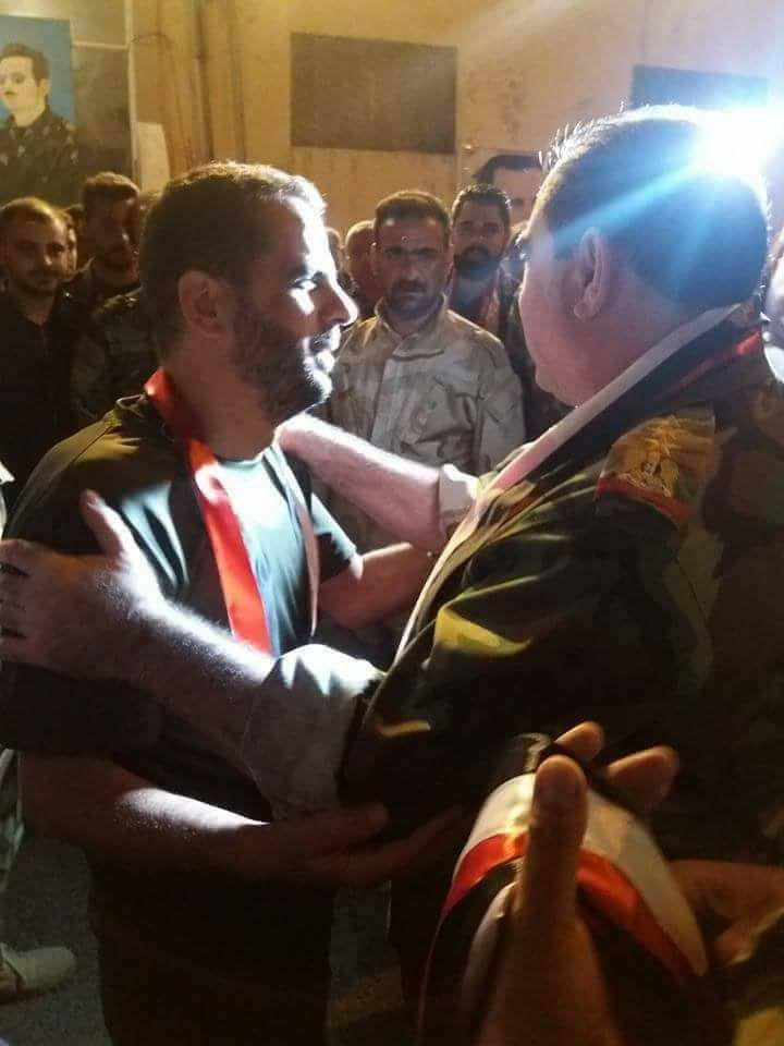 FSA Released Syrian Pilot And 30 SAA Soldiers That Had Been Captured In Southeastern Syria