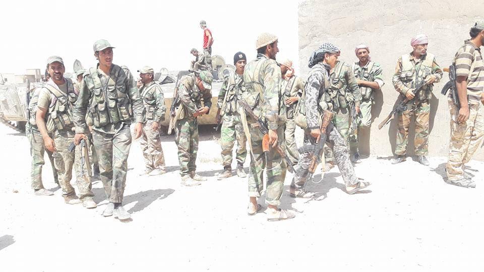 写真:タイガー軍とデリゾールに他の親政府戦乱の章エンルート