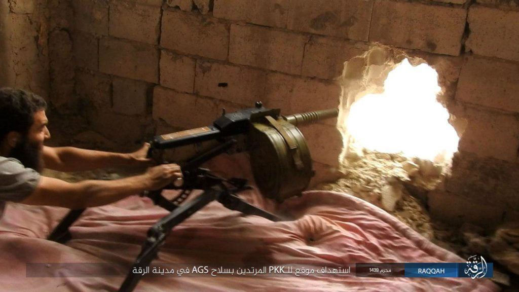 Syrian Democratic Forces Repel ISIS Attack, Advance In Raqqa City (Photos)