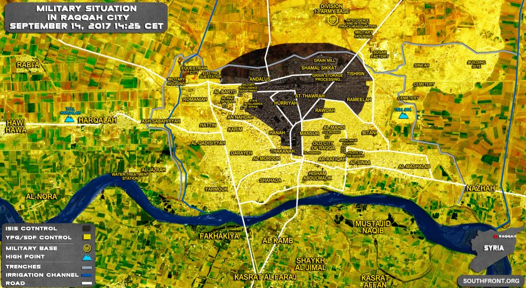 US-backed SDF Captures Raqqa National Hospital (Maps, Video)