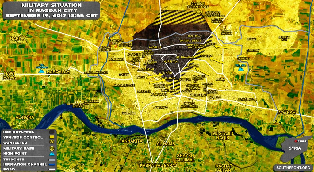 49 ISIS Members Killed In Clashes With SDF In Raqqah